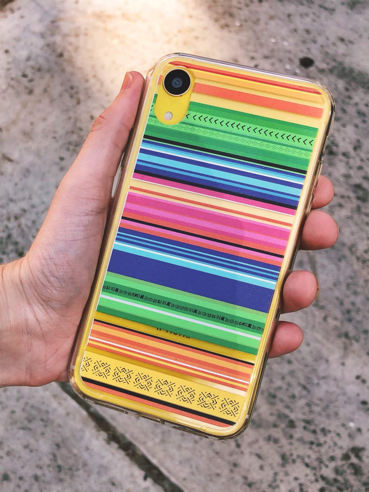 Clear Serape iPhone XR Case | The Urban Flair
