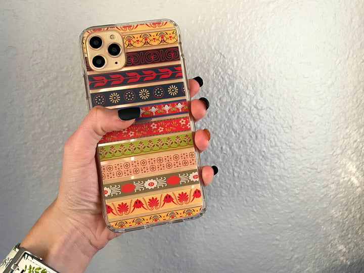 Modern Boho Clear iPhone 11 Pro Max Phone Case | The Urban Flair