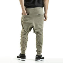 Load image into Gallery viewer, CLASSIC - HAREM PANTS - OLIVE WASH