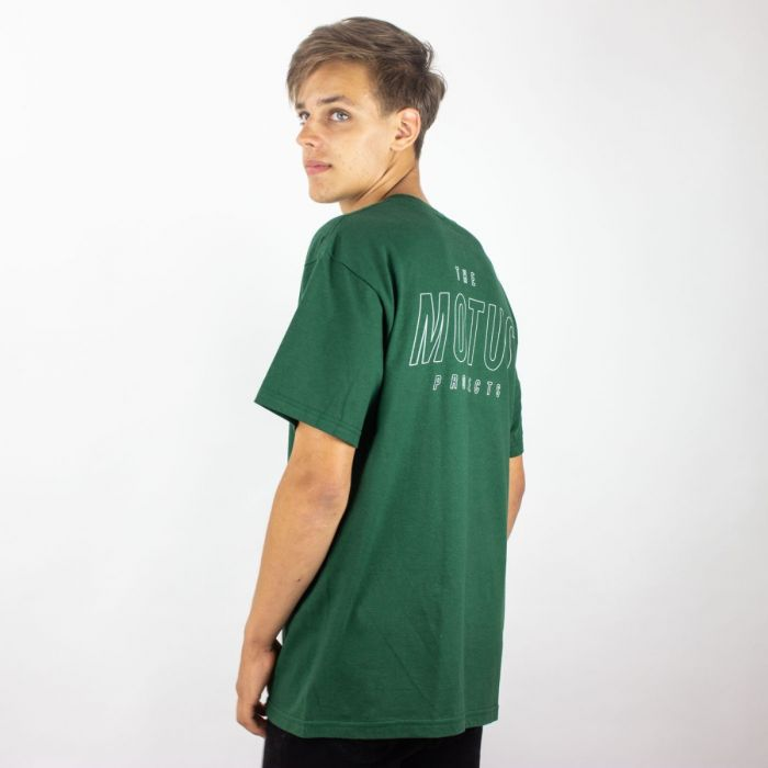Essential Logo Shirt Green