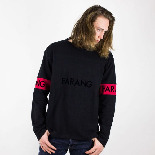 Linear Long Sleeve Black