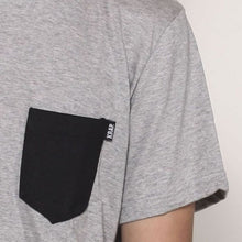 Load image into Gallery viewer, Longline pocket T-shirt