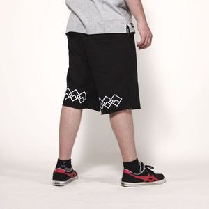 Logo Chain Shorts white
