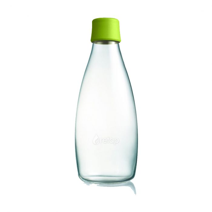 Retap bottle 0,8l green