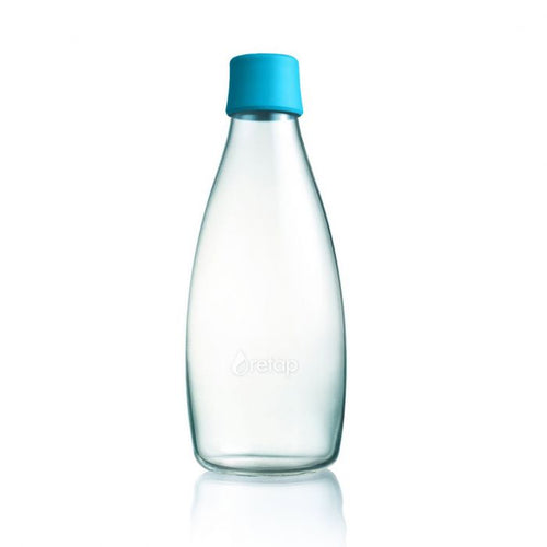 Retap bottle 0.8l blue