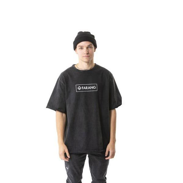GRIT - TEE - BLACK WASH