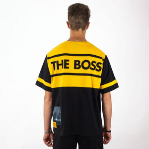 The Boss Tee Yellow