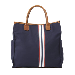 Bob Tote with Stripe - Canvas