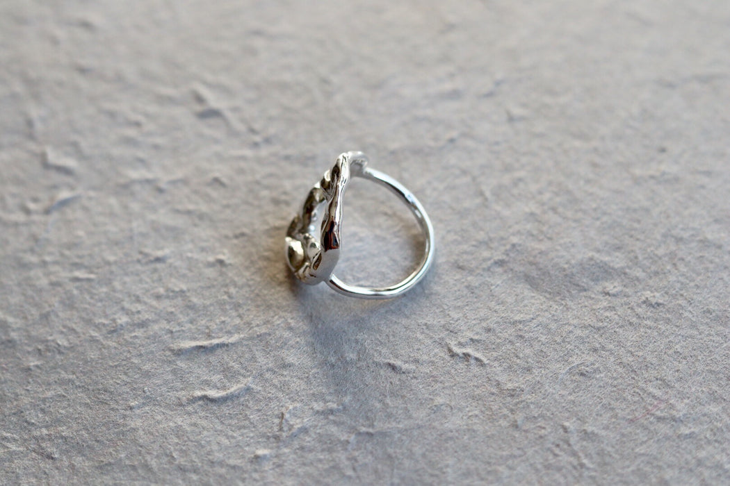 Ring 'Beata' sterling silver