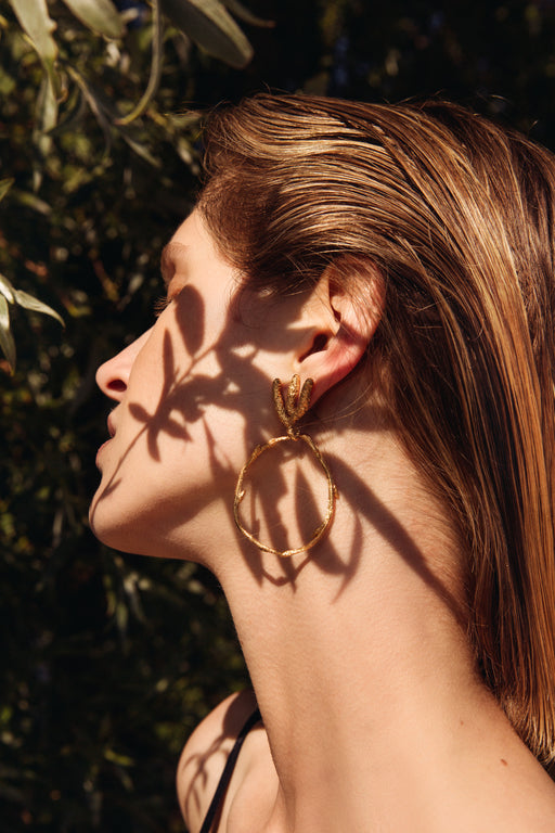 Earrings 'Nature'