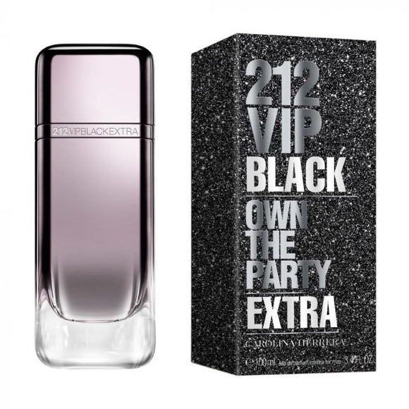 CAROLINA HERRERA 212 VIP BLACK EXTRA LIMITED EDITION