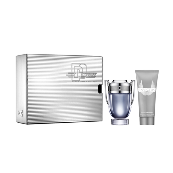 SET PACO RABANNE INVICTUS EDT 100ML +SHOWER GEL GR100