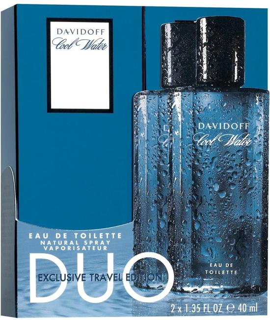 DAVIDOFF COOLWATER MEN DUO 2