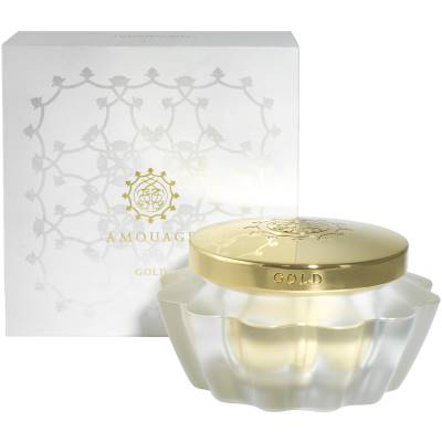 amouage gold woman body cream