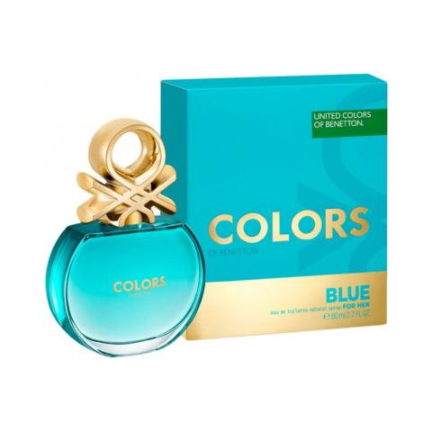 benetton colors blue women edt