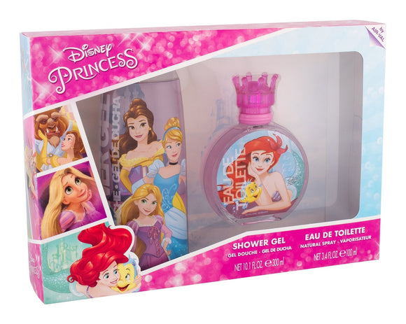 DISNEY PRINCESS SET EDT 100ML + SHOWER GEL