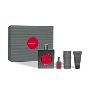 perry ellis red for men set de regalo