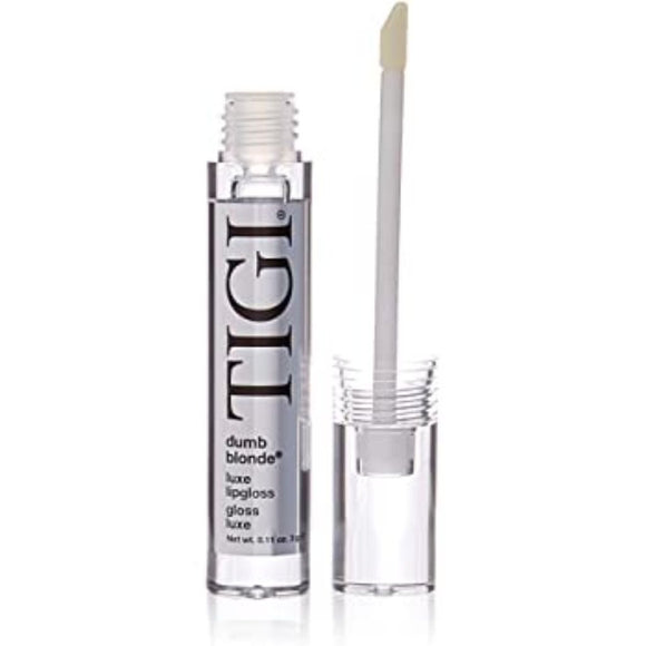 TIGI LUXE LIP GLOSS DUMB BLONDE