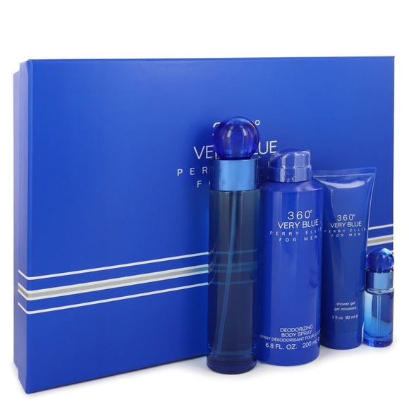 PERRY ELLIS 360 VERY BLUE SET MEN EDT