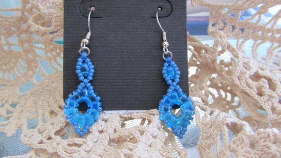 SuperDuo Flower Earrings