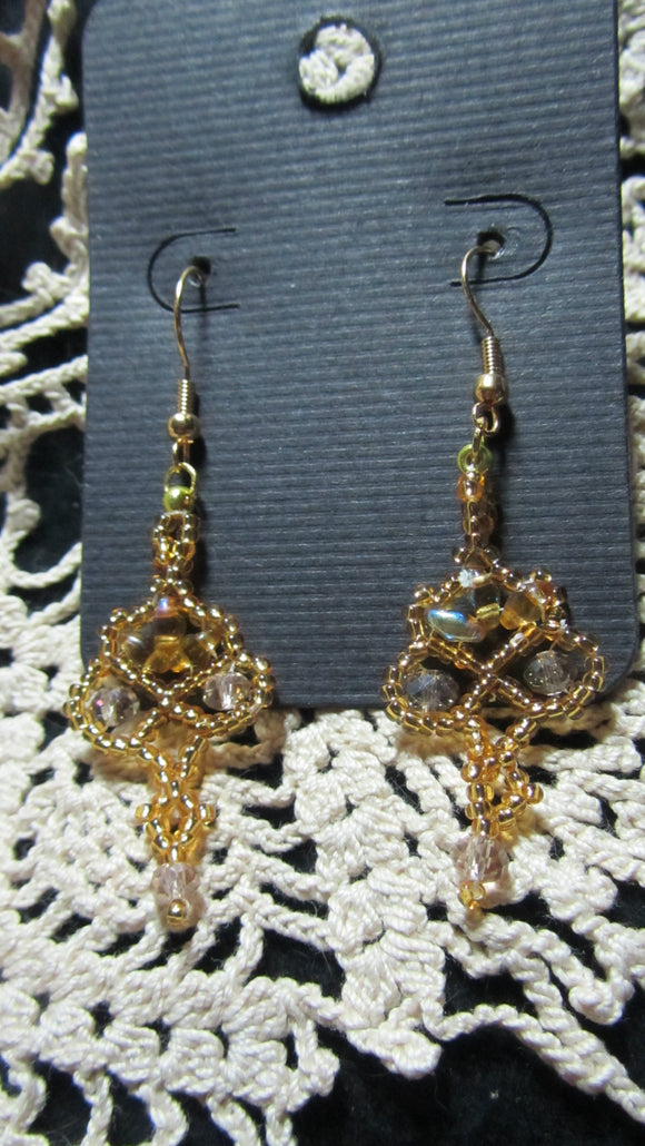 Twin Floret Earrings