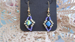 Silky Deco Chain Earrings