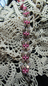 Flower Lattice Bracelet