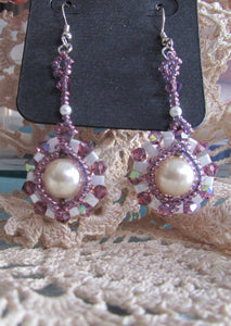 Half Tila Earrings