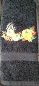 Pumpkin & Wheat Hand Towel
