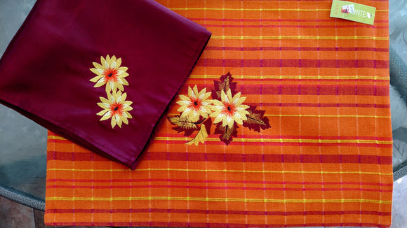 Fall Placemat and Napkin Set of two