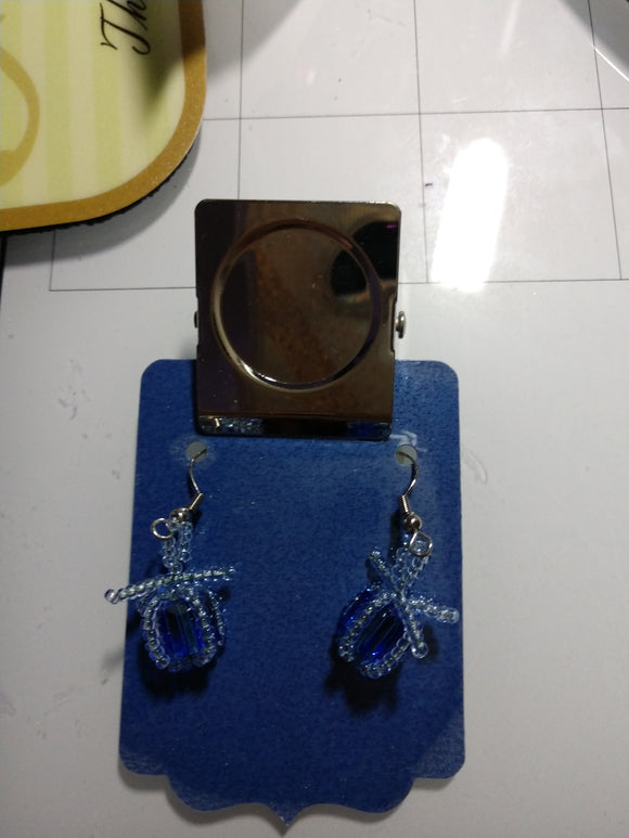 Christmas Package Earring