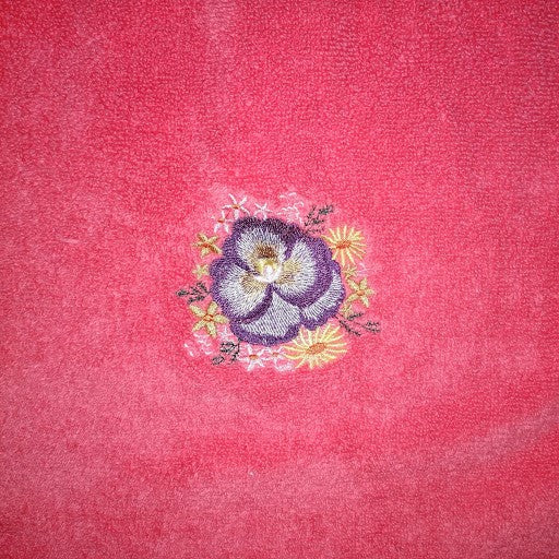 Pansy Towel