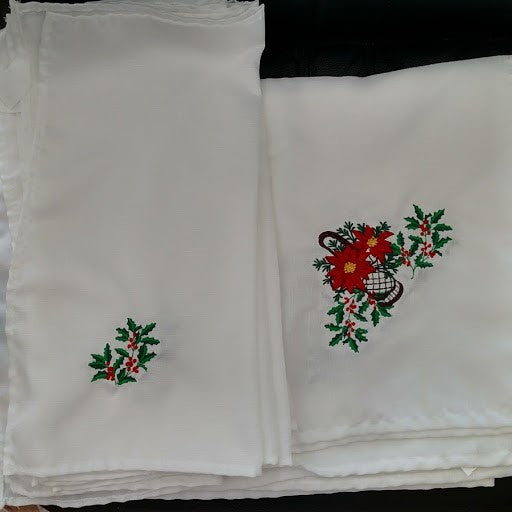 Christmas Tablecloth and Napkins