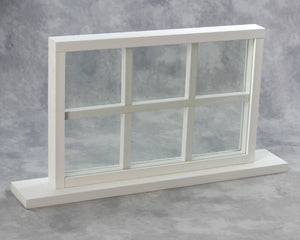 Beachcomber Window with Dividers