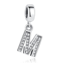 Charm pour bracelet Pandora - collection 2018 - lettres  alphabet - le buisson ardent