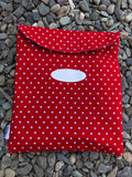 Red Stars Book Bag