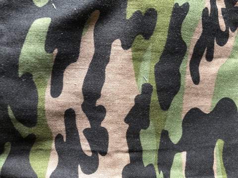 Green Camo Waterproof Wet Bag Backpack