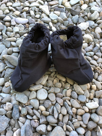 Littlies Black/black shoe covers