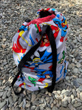 Superheros Waterproof Wet Bag Backpack