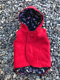 Womens Reversible Wool Vests