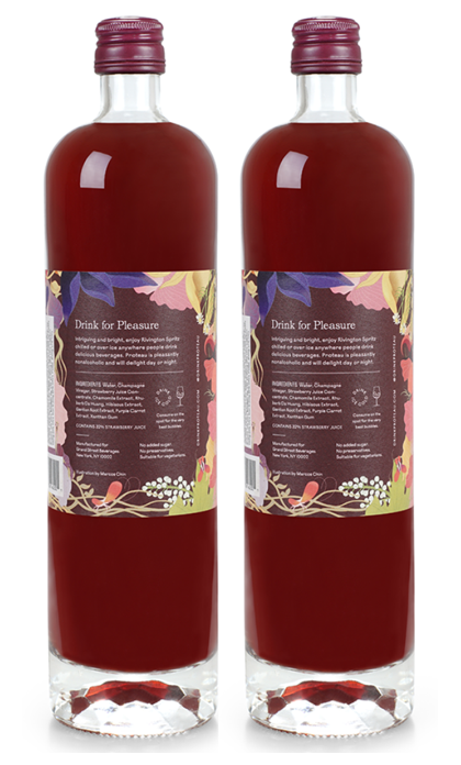zero proof -botanical drink - non alcoholic drinks - 2-Pack Rivington Spritz - Proteau