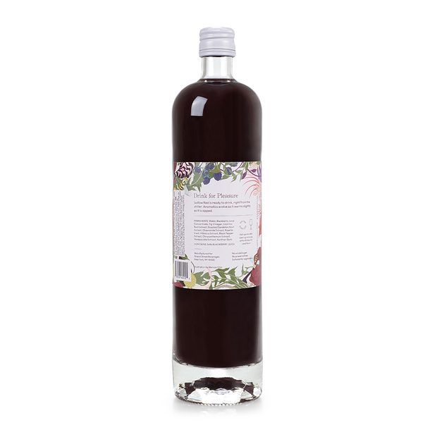 zero proof -botanical drink - non alcoholic drinks - Ludlow Red - Proteau