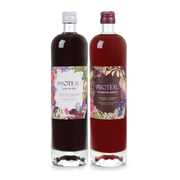 zero proof -botanical drink - non alcoholic drinks - 2-Pack Mixed (Ludlow Red + Rivington Spritz) - Proteau