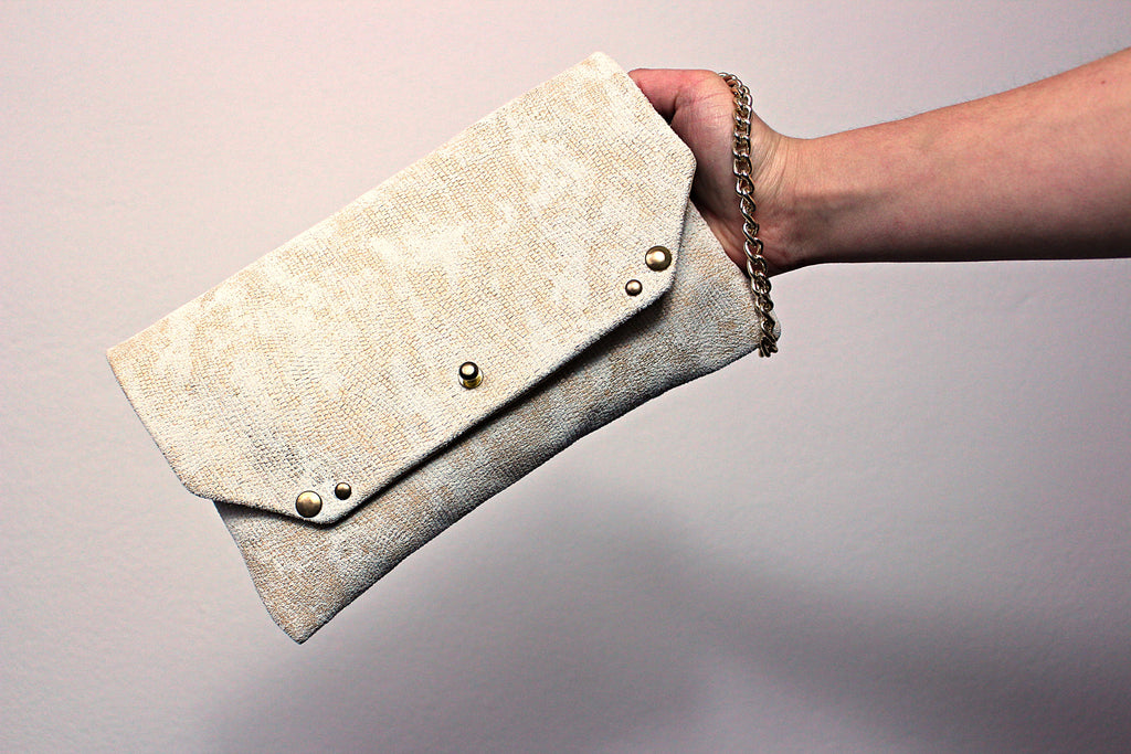 Pochette WHITE N GOLD