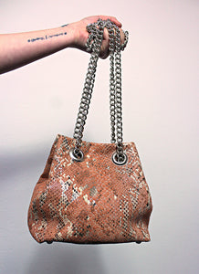 Mini bucket bag - salmone (PEZZO UNICO)