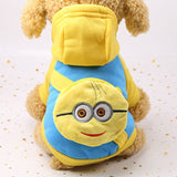 Cartoon Pet Dog Clothes For Dogs Costume Hoodies Winter Dog Coat Jackets Puppy Outfit Pet Overalls For Dogs Pets Clothing XS-XXL