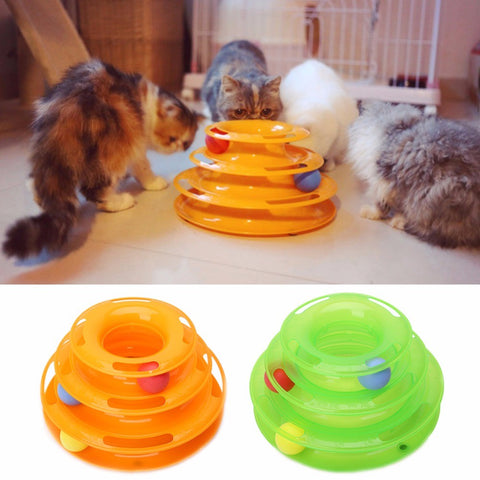 Pet Amusement Plate Cat Toy Pet Supplies cat Interactive Game disk toy
