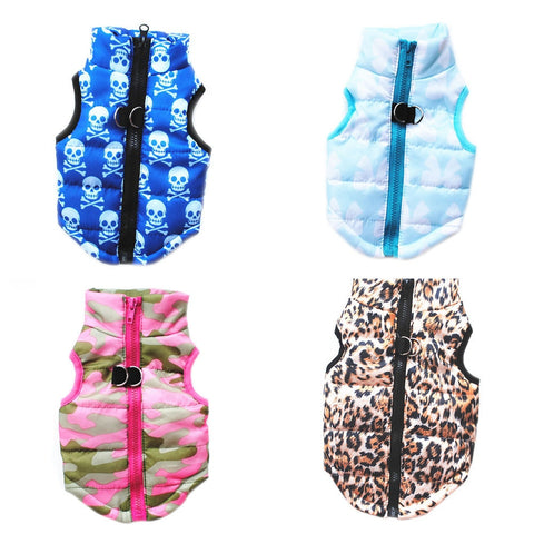 2017 XS/S/M/L Cat Dog Coat Jacket Pet Supplies Clothes Winter Apparel Puppy Costume Nylon+Polyester 23%