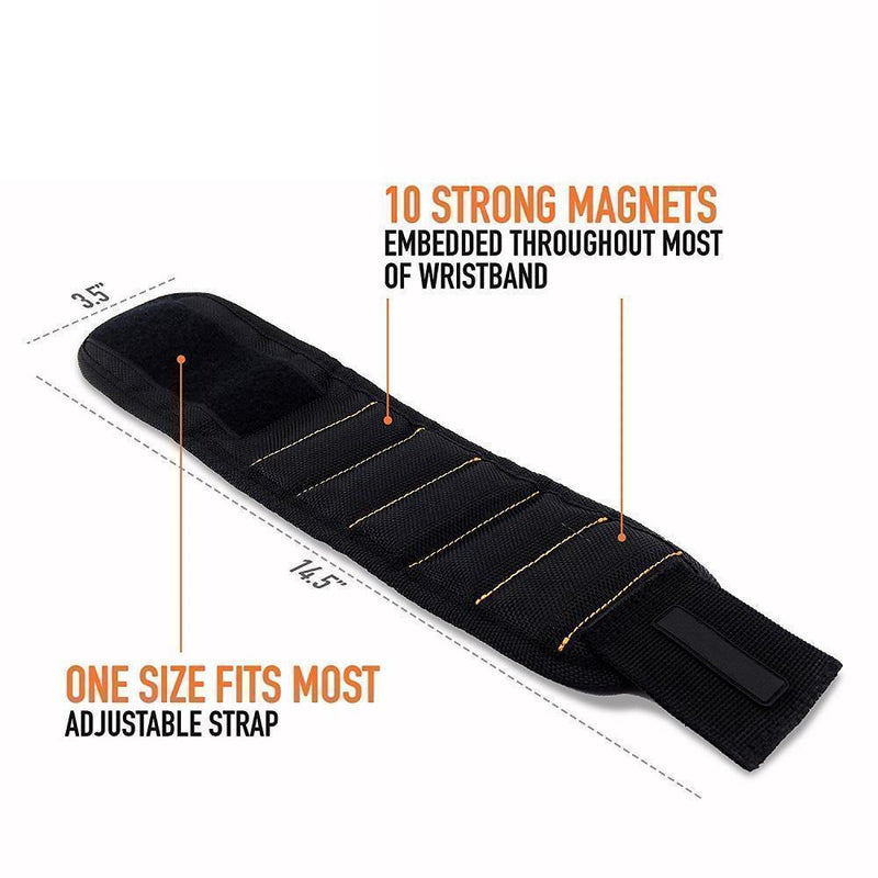 Magnetic Wristband with Strong Magnets