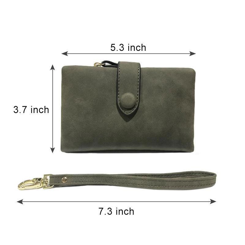 Small Leather Trifold Wallets For Women